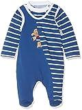 Sterntaler Strampler-Set Jersey Erwin, Alter: 3-4 Monate, Größe: 56, Blau