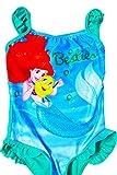 Kinder Official Disney Arielle Die Meerjungfrau Badeanzug Strandurlaub Badeanzug - Kleine Meerjungfrau, 98