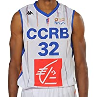 Kappa Basket Maillot Replica Ccrb Home Basketball