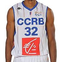 Kappa Basket Maillot Replica Ccrb Home 2017-2018 Basketball