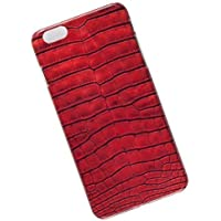 Slim Case for iPhone 6 Plus, 6s Plus. Tasche Cover. Crocodile Leather Look.