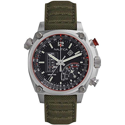 Orologio Nautica Uomo NAPMLR001 Cronografo Cassa 47 mm 656086088182