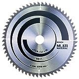 Bosch Professional Kreissägeblatt (für Multi Material, AußenØ: 254mm, Bohrung: 30mm, Zubehör für Kapp-, Tischkreissägen)