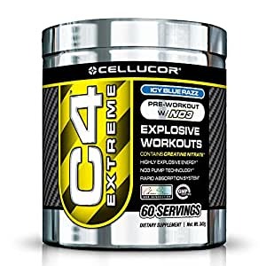 Cellucor C4 Extreme Pre-Workout 330g, 60 Servings (Green Apple)