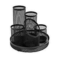 OSCO Wiremesh 5 Tube Pen Pot - Charcoal_p1