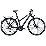 RALEIGH Damen RUSHHOUR 3.0 DISC Fahrrad, Darkgrey matt, 55