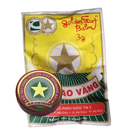Net Weight), Golden Star Balm, Cao Sao Vang Vietnam, Aromatic Balsam by Golden Star Balm ()