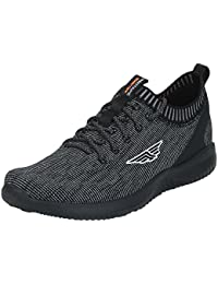 Red Tape Men's Black Running Shoes