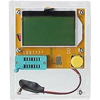censhaorme TFT Transistor Tester Kapazit/ät Meter LCR ESR NPN PNP Kondensator Checker Detector USB Lade LCR-TC1