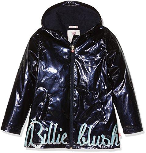 Billieblush Cire, Manteau Imperméable Fille, Bleu (Bleu Cargo), 8 Ans (Taille Fabricant: 08A)