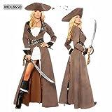 Gorgeous Fluch der Karibik Halloween Kostüm Kleid weibliche Modelle Ritter Kostüm-Parteikleid -Leistungskleidung