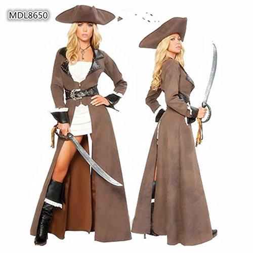 aribik Halloween Kostüm Kleid weibliche Modelle Ritter Kostüm-Parteikleid -Leistungskleidung ()