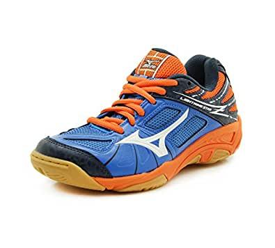 Chaussures junior Mizuno Lightning Star Z bleu/blanc/orange-36