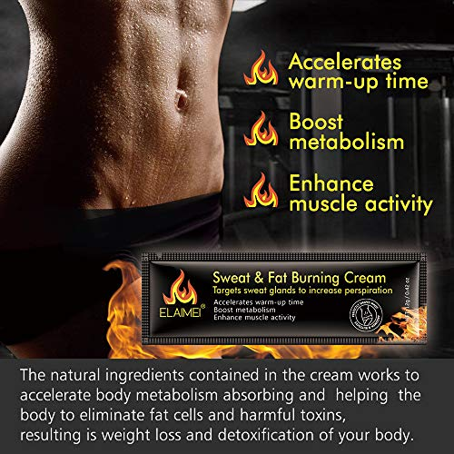 513IerXLEwL - Crema caliente, Abs Extreme 4D Liposuction Body Slim Cream, Anti celulitis Abdomen Cuerpo orgánico natural Tratamiento adelgazante para moldear la cintura, Abdomen y glúteos (10 unidades/caja)
