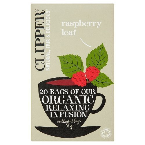 Clipper eco tea bag raspberry leaf tea 20P