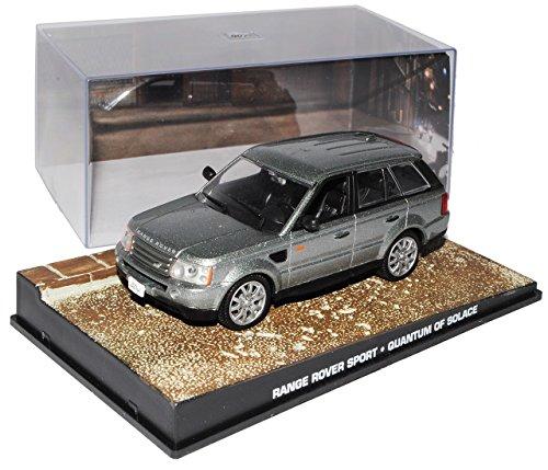 Quantum Vitrine (Ixo Range Rover Sport 1. Generation Grau 2005-2013 EIN Quantum Trost James Bond 1/43 Modell Auto)