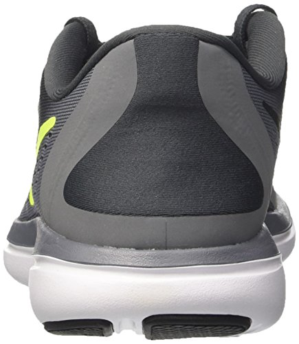 Nike Flex 2017 RN, Scarpe da Corsa Uomo Multicolore (Anthracite/Volt/Cool Grey/Black)