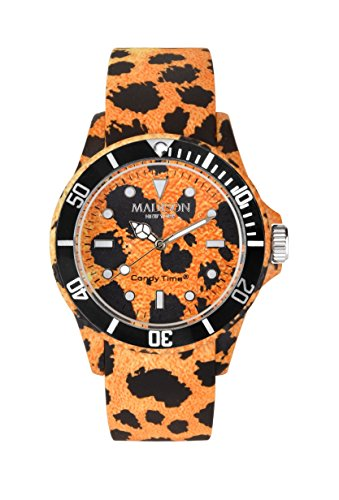 Madison New York Candy Time® Unisex Reloj Animal Print guepardo Onesize