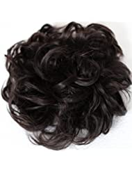 PRETTYSHOP XXL Postiche Cheveux En Caoutchouc Chouchou Scrunchy Chignons VOLUMINEUX Bouclés Ou Chignon Décoiffé...