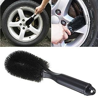 KingNew Reinigungsbürste für Felgen und Radzierblenden von Motorrad-, Auto-, Fahrzeugreifen, Reinigungswerkzeug