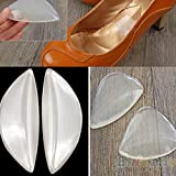 Generic 2 pairs Women Orthopedic Silicone Gel Arch Support Shoes Inserts Foot Insole Wedge Cushion Pads