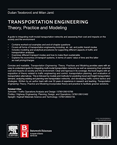 Transportation Engineering: Theory, Practice and Modeling