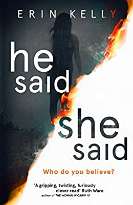 He Said/She Said: the Sunday Times bestseller
