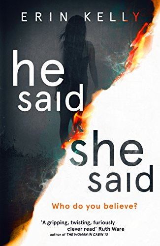 He Said/She Said Book Cover