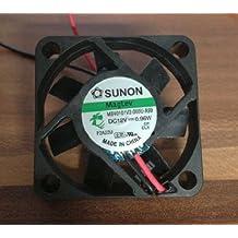 Sunon Ventilador 40x 40x 10mm mb40101V2de A99DC 12V 5800U/min 27dBA dBA con 2ranuras