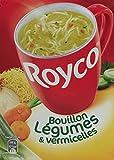 Royco Bouillon Légumes Vermicelle 3 Sachets 60 cl