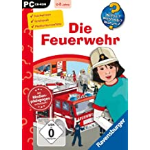 """Wieso? Weshalb? Warum? CD-ROM """"Die Feuerwehr"""" für PC: Computerspiel"""