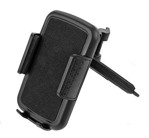 Handyhalterung Auto für CD-Schlitz - Universal KFZ PKW LKW - Handy Halterung 360 Grad - Autohalterung für Navi Smartphone -