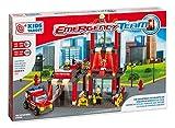 Rstoys 9578 - Costruzioni Kids Target Caserma Pompieri 300 Pezzi