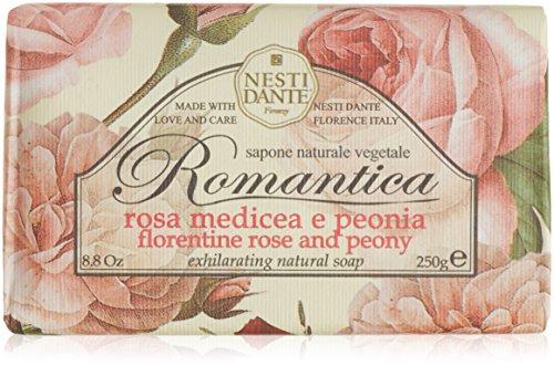 Nesti Dante Romantica Florentine Rose and Peony Soap 250g (Rosen Romantica)