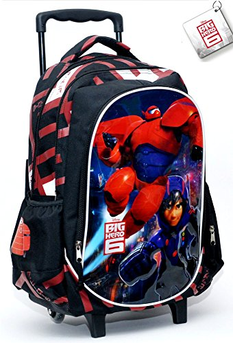 ZAINO SCUOLA CON TROLLEY BIG HERO 6 341-91074