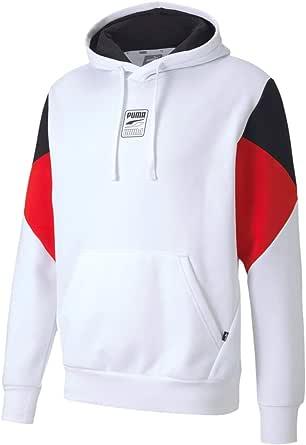 PUMA Rebel Hoodie S Logo FL Pullover Uomo