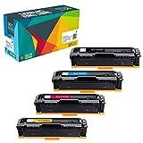 4 Do it Wiser Kompatibel Toner zu HP 201X 201A CF400X für HP MFP M277dw MFP M277n M252dw M252n M274n (Schwarz 2.800 - Farben 2.300 Seiten)