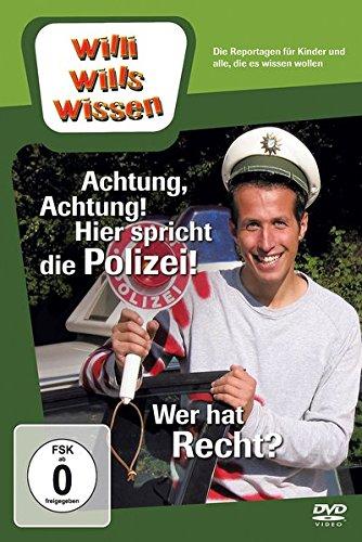 Willi wills wissen - Achtung, Achtung! Hier spricht die Polizei!/Wer hat Recht?