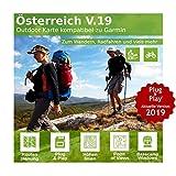 Österreich V.19 - Profi Outdoor Topo Karte kompatibel zu Garmin Montana 600, Montana 610, Montana 610t Camo