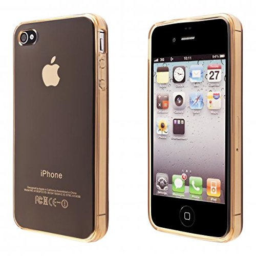 preisvergleich ecence apple iphone 4 4s silikon tpu case. Black Bedroom Furniture Sets. Home Design Ideas