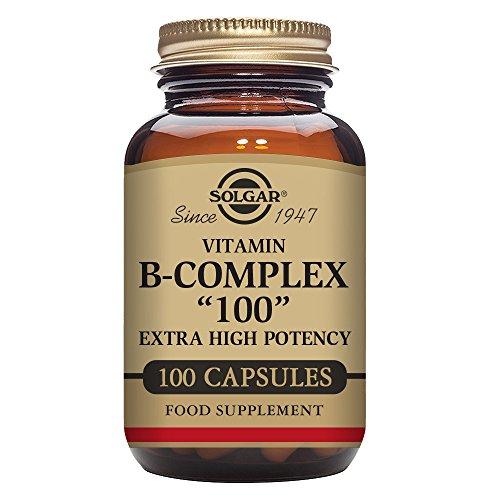 """Solgar Formula Vitamin B-Complex""""100"""" Vegetable Capsules - 100 Vegicaps Test"""