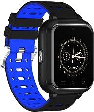 Reputedc IP67 Waterproof 4G Full Netcom Smart Watch GPS 1.45 Inch Android 6.0 RAM 1GB ROM 8GB Sports Phone Tracker Heart Rate Monitor Support SIM WiFi Wristwatch Smart Watch
