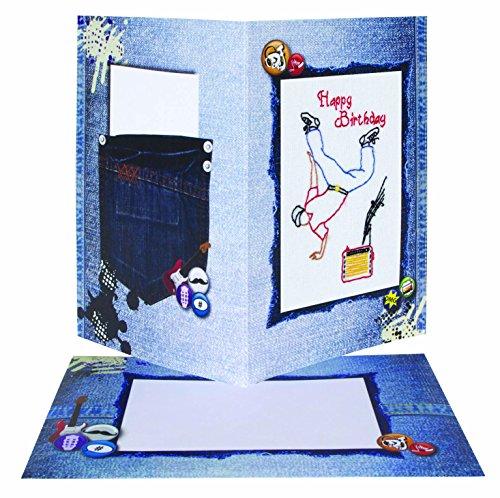 Anchor Stoffpuppen &Soft Toys Geburtstagskarte, zum Tanzen, für Jungen, mehrfarbig, Farbe
