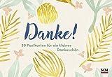 Danke! - Postkartenbuch: 20 Postkarten für ein kleines Dankeschön