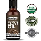 Clove Essential Oil 30ml,Therapeutic Grade 100% Pure Clove Oil For Teeth,Hair And Skin By Aromatique (30ML)
