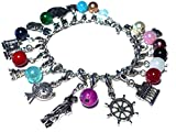 Weltenbummler Adventskalender Charms Bettelarmband