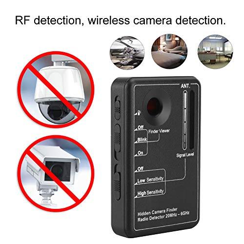 caracteristicas:Estructura de navegación dual de alto rendimiento de RF y LED láser.Detección de RF, detección de cámara inalámbrica.La frecuencia de detección es de hasta 20MHz ~ 6GHz.Mostrar intensidad de frecuencia, mostrar resultados de búsqueda....