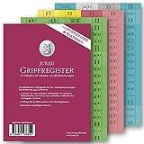 Griffregister für SCHÖNFELDER & SARTORIUS | selbstklebende Register mit Gesetzes- und §§-Bezeichnungen | 2019