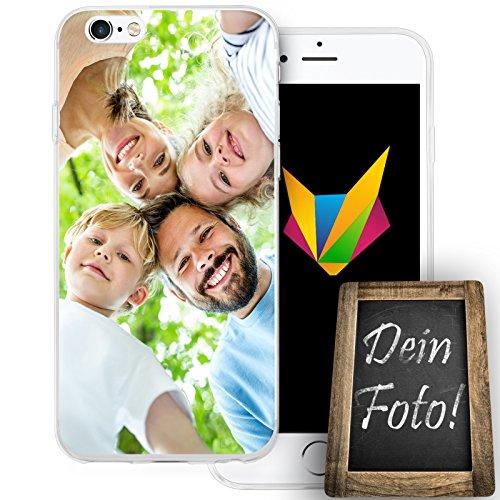 Mobilefox Berge transparente Silikon TPU Schutzhülle 0,7mm dünne Handy Soft Case für Apple iPhone 5/5S/SE Berggipfel - Cover Gel Hülle Eigenes Motiv