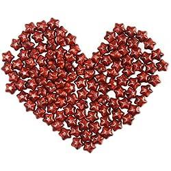 Pawaca pawaca120-Regenbogen-Siegelwachs-Perlen mit Wachs, Schmelzen Wachs dye-diy Kerze Dye, Kerzen-Set, Kerze, Förmchen, Soja-Wachs kit-hemp candle-for mit Duftkerzen, rot, 80*54mm